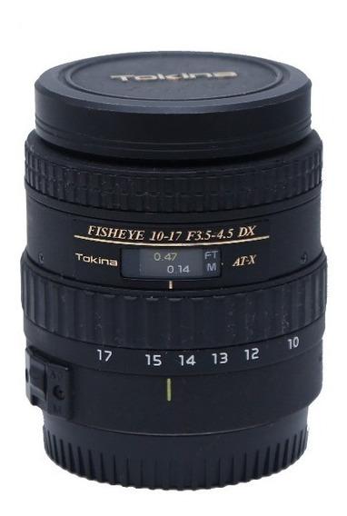Tokina Fisheye 10-17 Mm F 3.4-4.5 Dx At-x