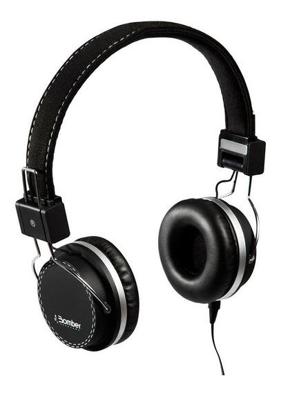 Fone De Ouvido Bomber Headphone Quake P2 32 Ohms Preto