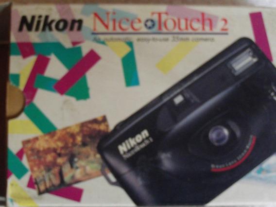2 Camaras Nikon De Rollo 35mm Por Un Solo Precio