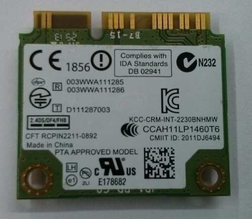 Placa Rede Wireless Wi Fi Bluetooth All In One 24v550 - Lg