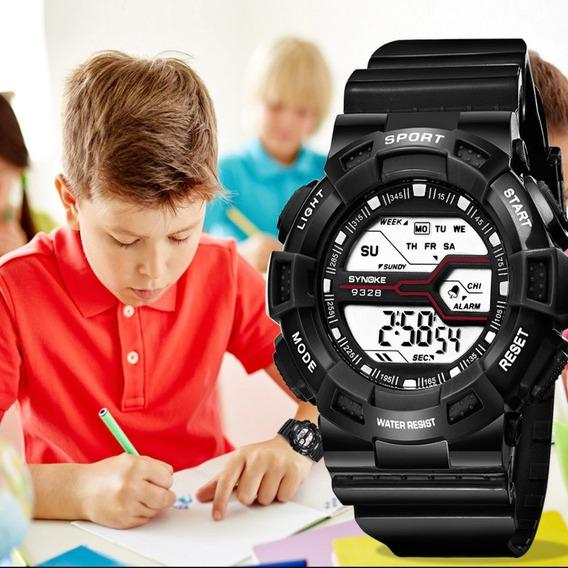 Relógio Infantil Digital Masculino + Brinde Em Promoção