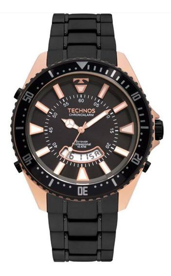 Relógio Technos Skydiver Analógico E Digital Modelo T205jj