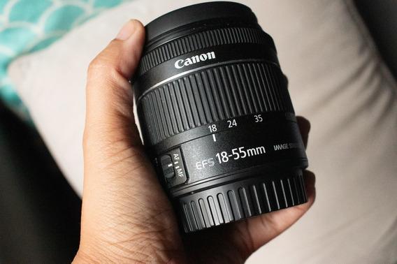 Lente Canon 18-55mm Praticamente Zerada