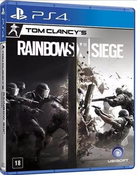 Rainbow Six Siege Ps4 Midia Fisica Lacrado
