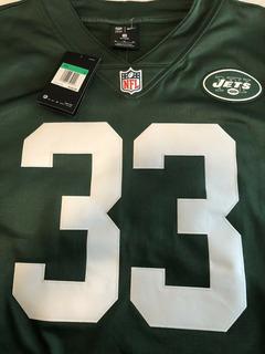 Nike New York Jets #33 Jamal Adams Jersey Therma Sweter Hombre S Nueva Y Original