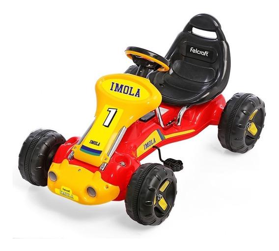 Karting Para Niños Infantil A Pedal Carroceria Metalica