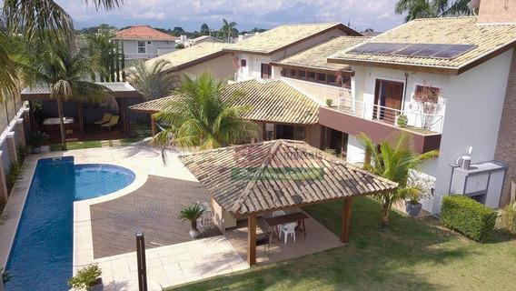 Casa Com 3 Dormitórios À Venda, 600 M² Por R$ 3.200.000,00 - Taubaté Village - Taubaté/sp - Ca1798