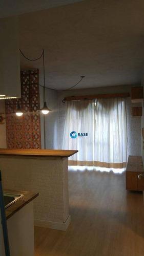 Apartamento Com 1 Dormitório À Venda, 44 M² Por R$ 350.000 - Panamby - São Paulo/sp - Ap11260