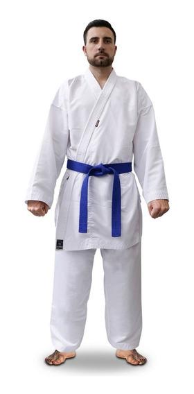 Kimono Karate Microfibra Competiçao Shiroi Homologado Cbk