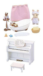 2 Juegos Diferentes - Bañera Y Piano - Juego De Musica Y Ba