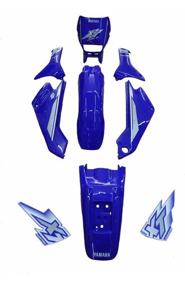 Kit De Carenagem Adesivado - Yamaha Xt 225 2000 Azul