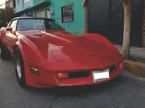 Chevrolet Corvette Clasico Stingray 1982 Holograma Poli