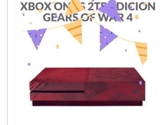 Consola Xboxones2t Gears Of War 4 Regalo Perfecto A Hijos;)