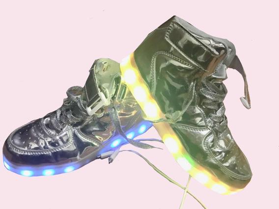 Zapatillas Botitas Con Luces Usadas Importadas Recargables