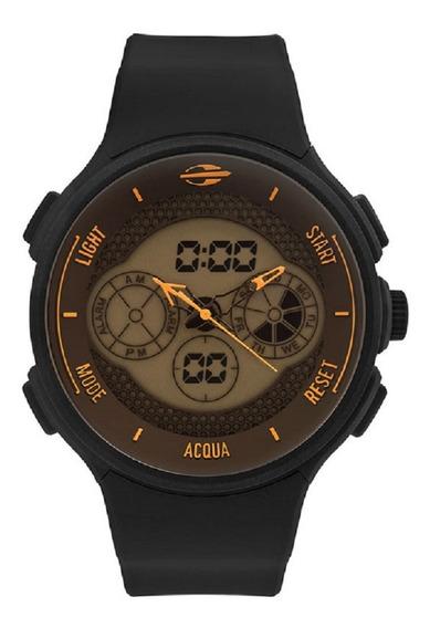 Relógio Mormaii Masculino Acqua Mo160829ae/8l Laranja Anadig