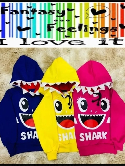 Baby Shark - Moletom Com Capuz