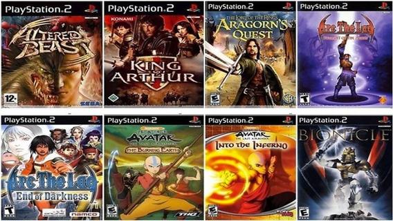 15 Jogos Para Playstation 2 Desbloqueado À Escolha - Patch