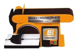 Lijadora De Banda Y Disco Lqlb-250 Lusqtoff