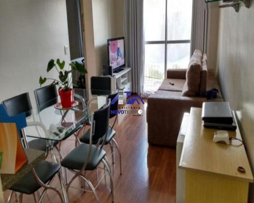 Apartamento Residencial À Venda, Jardim São Luiz, Jandira. - Ap0166 - 67873875