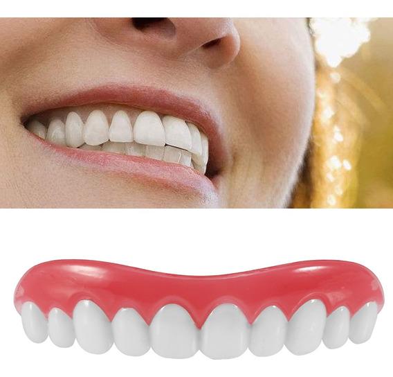 Dentadura Postiza Flexible De Plastico Para Adultos Hombres