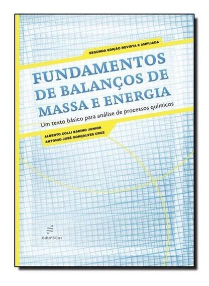 Fundamentos De Balanços De Massa E Energia