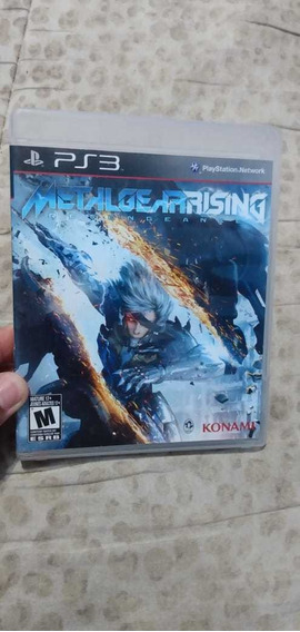 Jogo Metal Gear Rising Revengeance Original Para Ps3