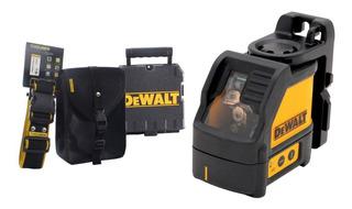 Nivel Laser Dewalt Autonivelante Dw088k 30 M Cruz Durlock