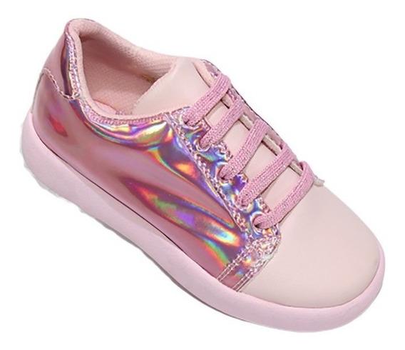 Tenis Zapatos Casuales Niña Leon Tacto Piel 1011
