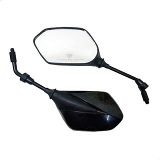 /2005 Retrovisor negro ajustable para Suzuki GSF 600/Bandit S 2000/ Par espejos de moto para carenado Far