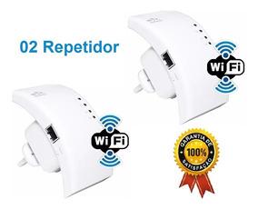 Repetidor Expansor De Sinal Wifi Roteador 2 Unid Promoção
