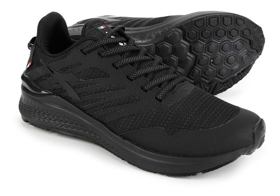 Tenis Diadora Hexa Running Preto All Black