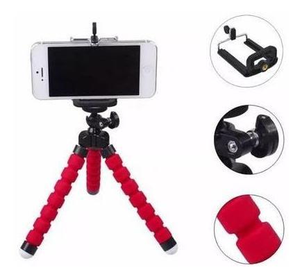 Tripé Articulado Flexível , Suporte Celular Selfie Câmera.