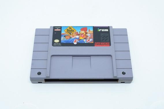 Fita Snes Rocky Rodent Cartucho Super Nintendo
