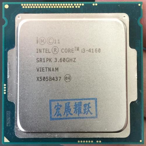 Imagem 1 de 1 de Processador Intel I3 4160 Lga 1150 3,6ghz 3mb Oem S/ Caixa
