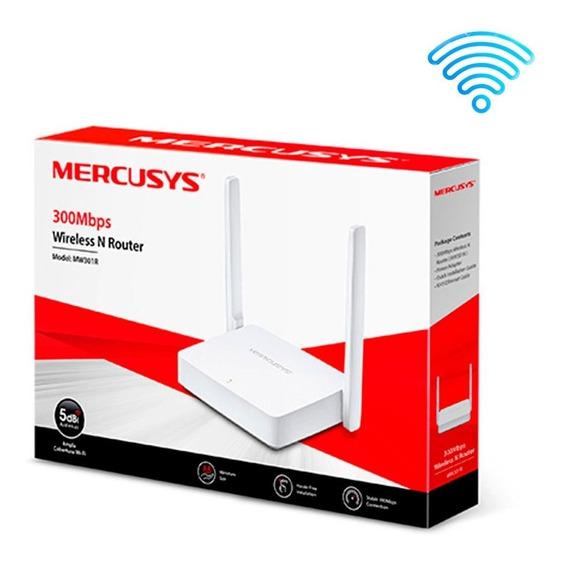 Roteador Wireless 300mbps Mercusys C/2-antenas Ipv6