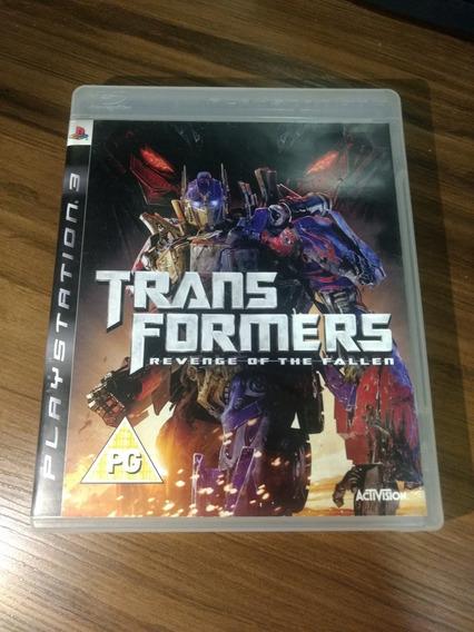 Jogo Ps3 Transformers Revenge Of The Fallen Região 2