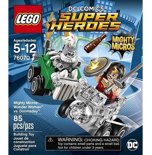 Lego® Superheroes Mighty Micros Wonder Woman Vs. Doomsday