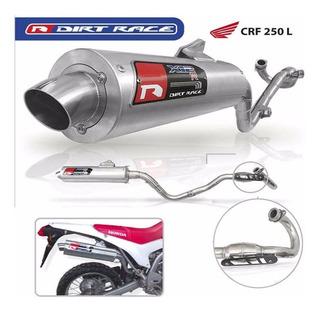 Escape Dirt Race Honda Crf 250 L Cuotas Fas Motos