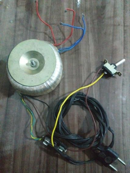 Transformador Toroidal, 36v E 10.5v