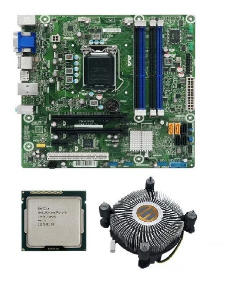 Kit Placa Mae Pos-piq77cl Lga 1155 + I5 3470 + Cooler