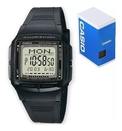 Reloj Casio Db36 Databank Illuminator Original Envío Gratis