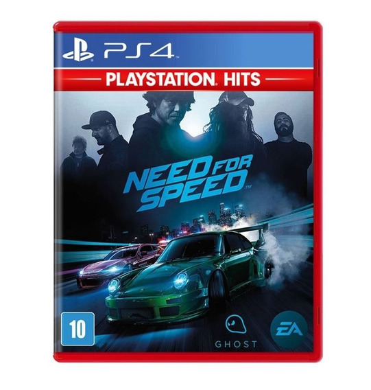 Need For Speed - Ps4 - Novo - Lacrado - Mídia Física