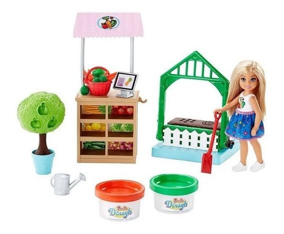 Brinquedo Horta Da Chelsea Com Massinha Barbie Mattel Frh75