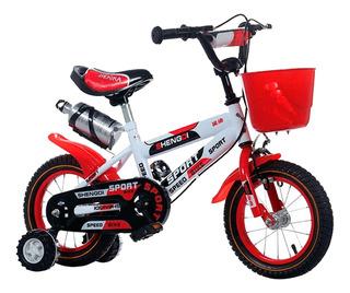 Bicicleta Infantil Lumax Aro 12 Colores A Eleccion