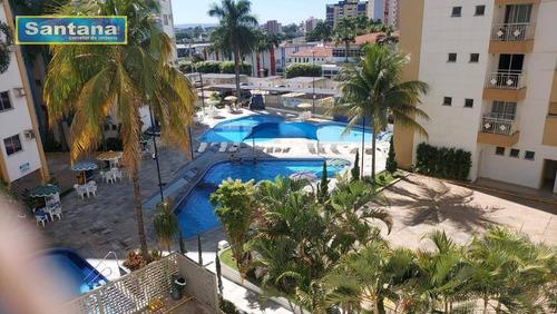 Imagem 1 de 30 de Apartamento Com 2 Dormitórios À Venda, 59 M² Por R$ 178.000,00 - Do Turista - Caldas Novas/go - Ap0983