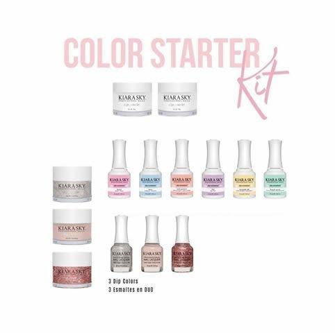Kiara Sky Dip Starter Kits Color Starter Kit