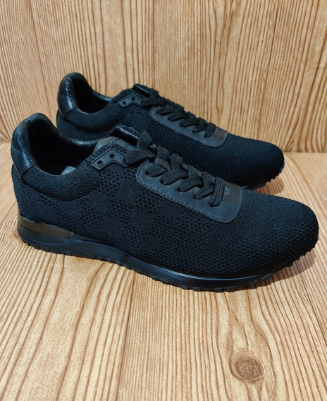 Tenis Sneakers Lv Louis Vuitton Runaway Negro Remate