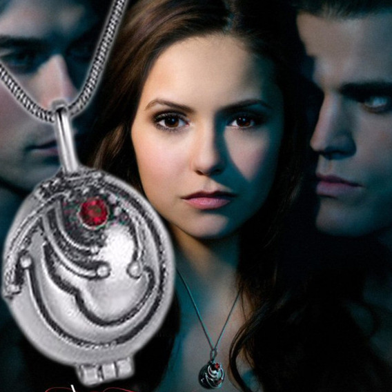 Colar Porta Verbena Elena The Vampire Diaries Katherine