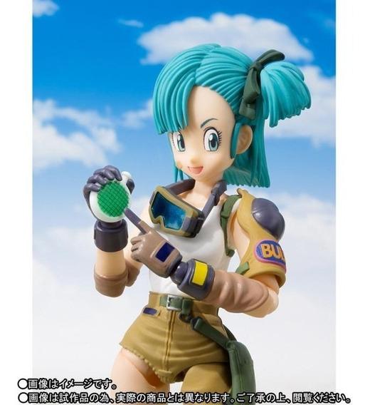 Bulma Dragon Ball S H Figuarts - Bandai