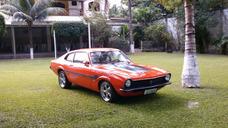 Maverick V8 1977 Restaurado Motor Novo